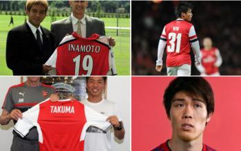 Takehiro Tomiyasu becomes the 4th Japanese player to sign for Arsenal