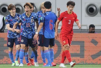 China 0-(1) Japan - Yuya Osako goal 2021