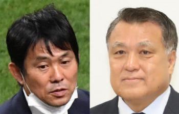 JFA President Kozo Tashima praises Moriyasu