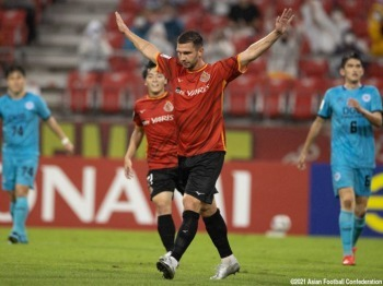 Nagoya Grampus become the second team through to the Quarter Finals after a 4-2 win over Flag of South Korea Daegu FC