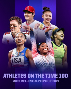 These sports figures were named in the TIME 100 Most Influential People for 2021