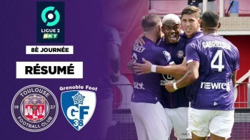 Toulouse won 4-1 against Grenoble thanks in particular to a double from Ado Onaiwu