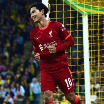 Norwich 0 - [3] Liverpool - Takumi Minamino goal