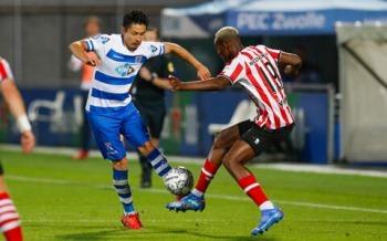 Yuta Nakayama super assist PEC Zwolle vs Sparta Rotterdam