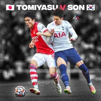 Tomiyasu Had son in his pocket