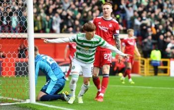 Aberdeen 0-1 Celtic - Kyogo Furuhashi goal