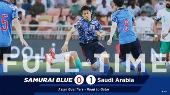 Saudi Arabia 1-0 Japan 2022 World Cup Qualifying