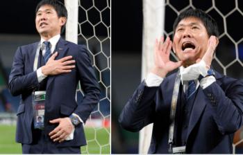 Japan coach Hajime Moriyasu earns a reprieve after win over Socceroos