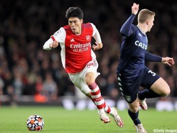 Tomiyasu Arsenal 3-1 Aston Villa