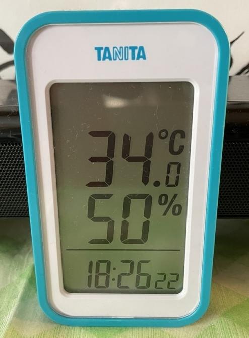 34℃超え