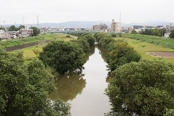 矢田川風景