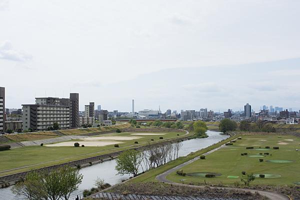 矢田川河原風景