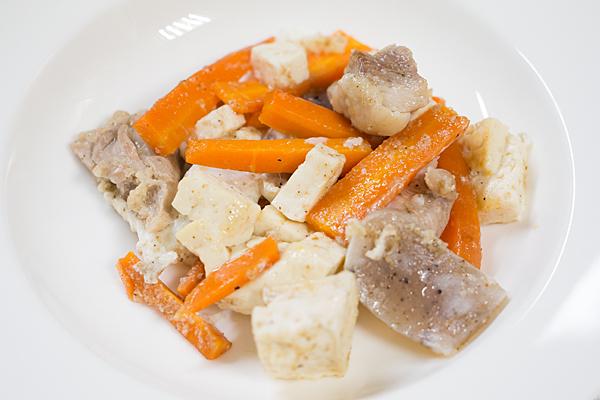 豆腐とコンニャク