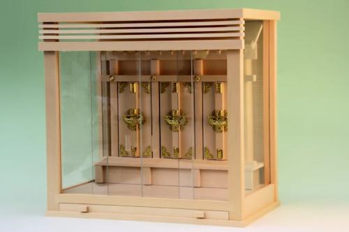 ガラス箱宮神殿
