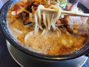 粋翔 AKIHA味噌ラーメン 麺スープ