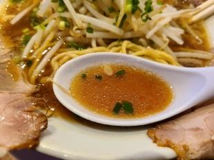 万人家紫竹山 あっさりラーメン スープ