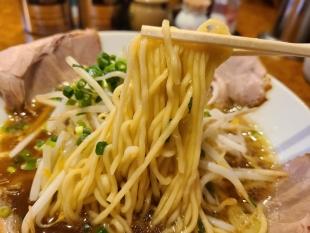 万人家紫竹山 あっさりラーメン 麺