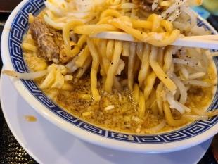 万人家女池 大鶏排G麺 麺スープ
