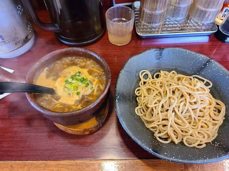 つるり 醤油つけ麺