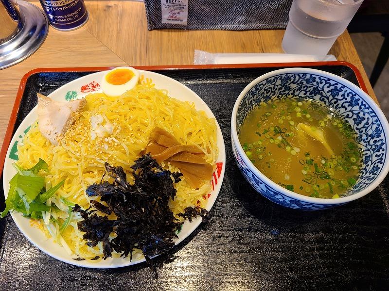 浦咲新潟東 焼アゴ塩つけ麺