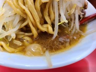 立川マシマシ長岡店 中ラーメン スープ