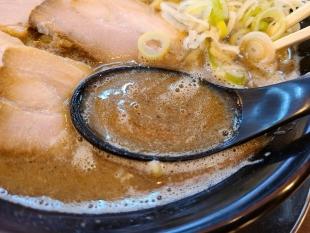 赤シャモジ桜木店 濃厚中華そば スープ