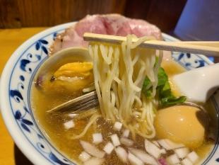 さらい 貝出汁ラーメン 麺