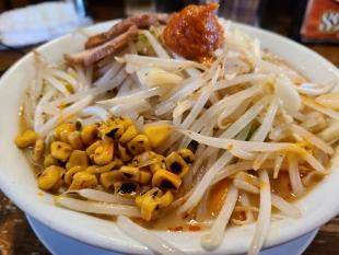 ダルマ食堂 味噌ちゃんタンメン 具