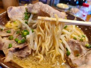 万人家紫竹山店 らーめん 麺