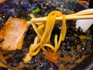 当たり家 岩海苔ラーメン 麺