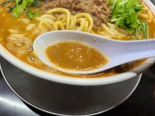 勝龍 担々麺 スープ