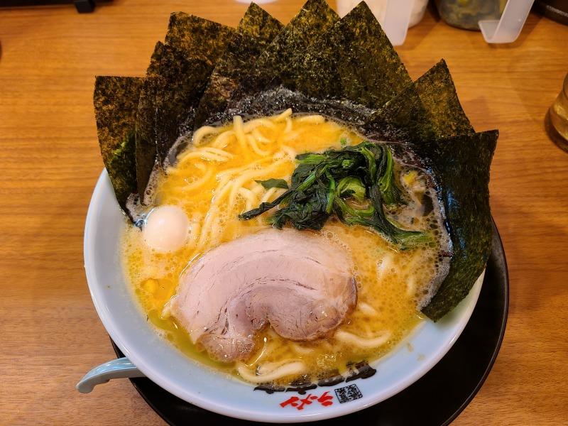 町田商店竹尾 ラーメン海苔増し
