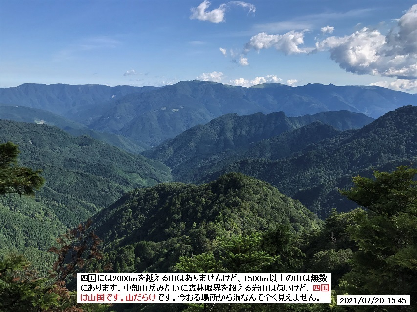 7月20日、矢筈山ハクサンシャクナゲお花見登山