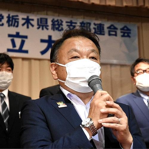 国民民主党栃木県総支部連合会<再始動>設立大会!⑩