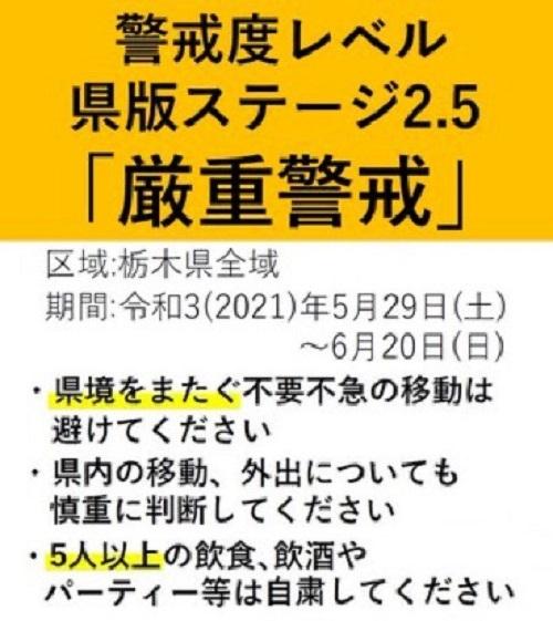 栃木県 新型コロナ対策6月補正予算案 緊急対策分を追加!②