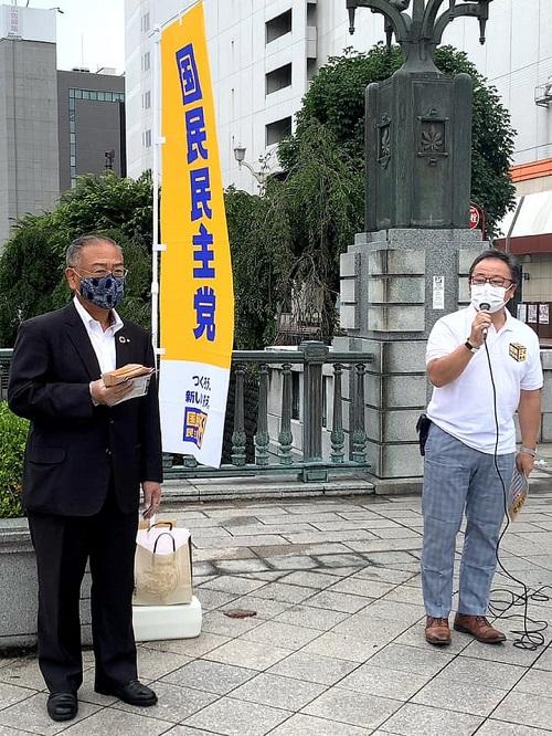 国民民主党とちぎ<STEP UP ACTION>スタート!宮の橋②