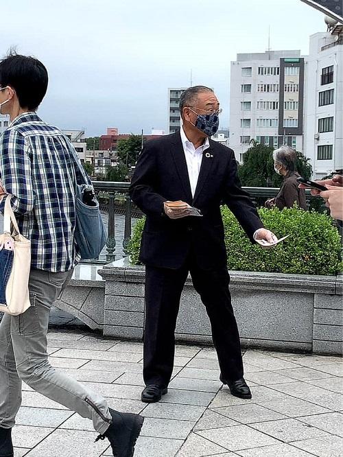 国民民主党とちぎ<STEP UP ACTION>スタート!宮の橋③