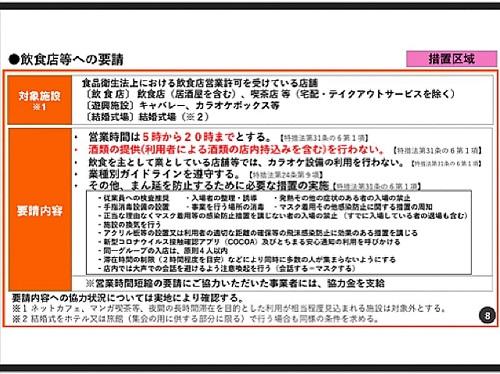 政府「まん延防止等重点措置」適用地域に栃木県等を追加/栃木県の対応⑧