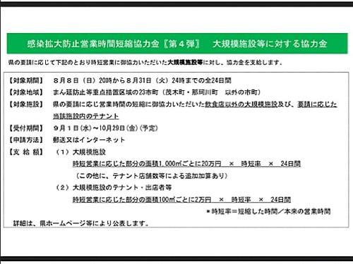 政府「まん延防止等重点措置」適用地域に栃木県等を追加/栃木県の対応⑫
