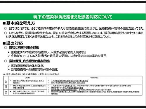 政府「まん延防止等重点措置」適用地域に栃木県等を追加/栃木県の対応⑮