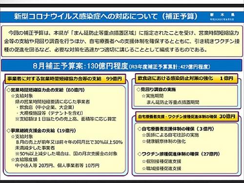政府「まん延防止等重点措置」適用地域に栃木県等を追加/栃木県の対応⑰