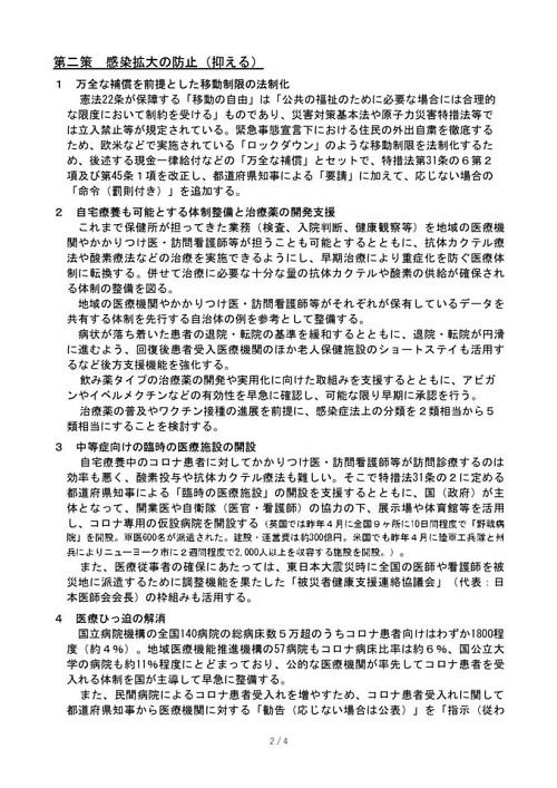 【国民民主党 新・コロナ三策!】新型コロナ③