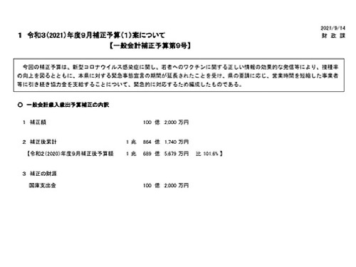 栃木県議会 9月の動き②