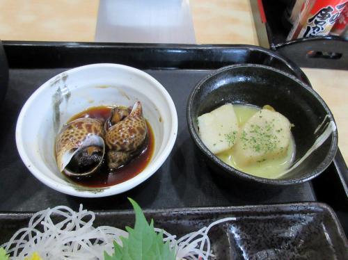 バイ貝とホタテバター