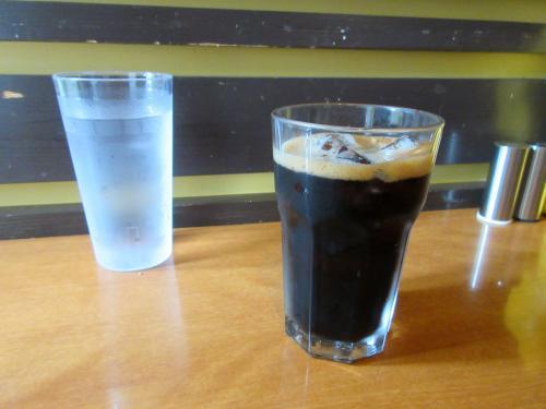 ドリンクセットのアイスコーヒー