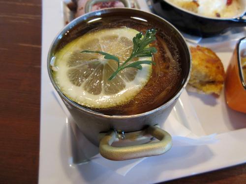 ツナとレモンの和風冷製スープパスタ