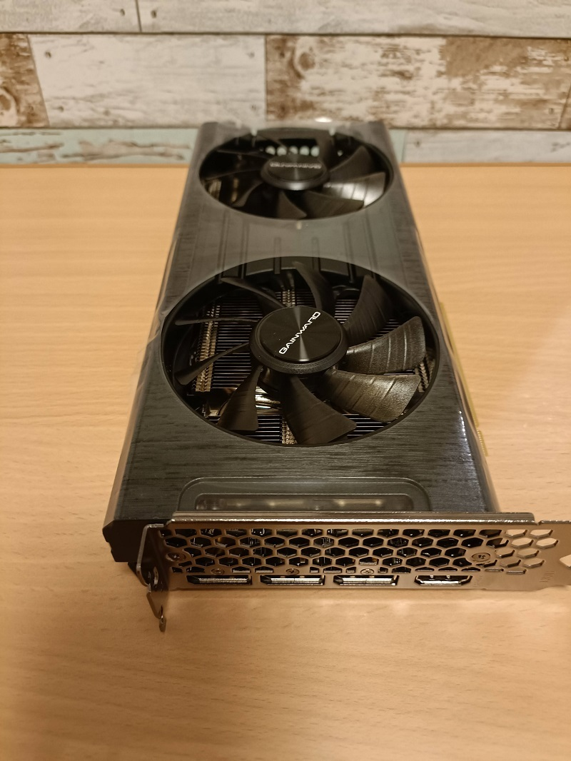 GAINWARD GHOST「GeForce RTX 3060」開封