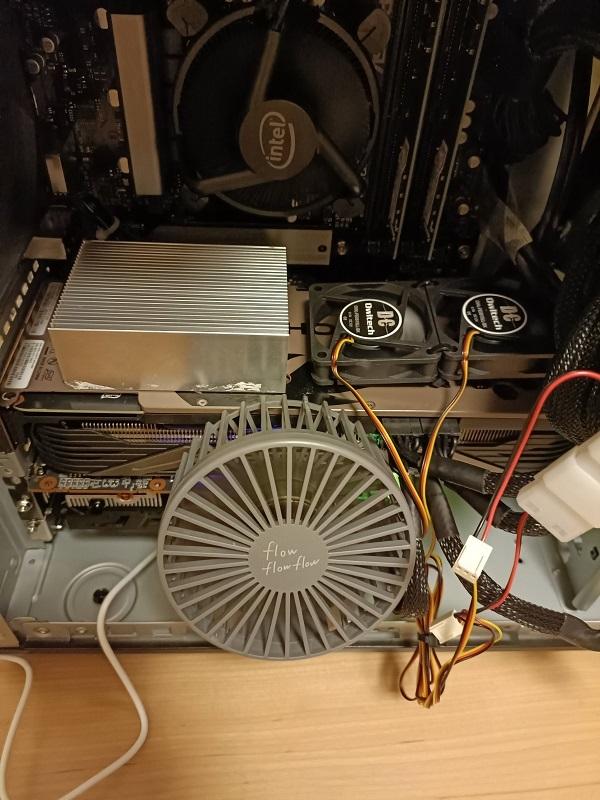 「RTX3080」安定稼働中