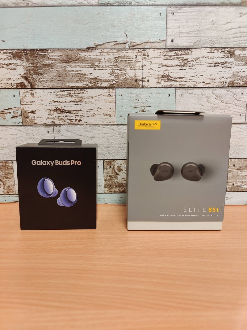 「Galaxy Buds Pro」の外箱比較