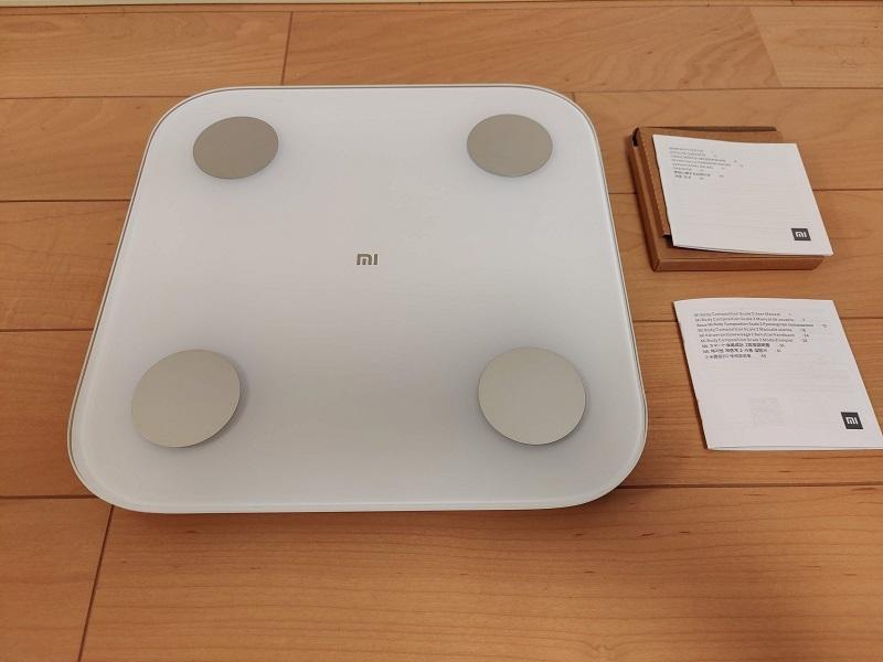 「Xiaomi Mi スマート体組成計2」開封